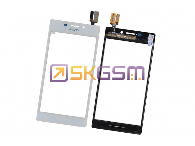 Sony D2302/D2303/D2305 Xperia M2 - Сенсорная панель (touch/panel), Оригинал (цвет:White)
