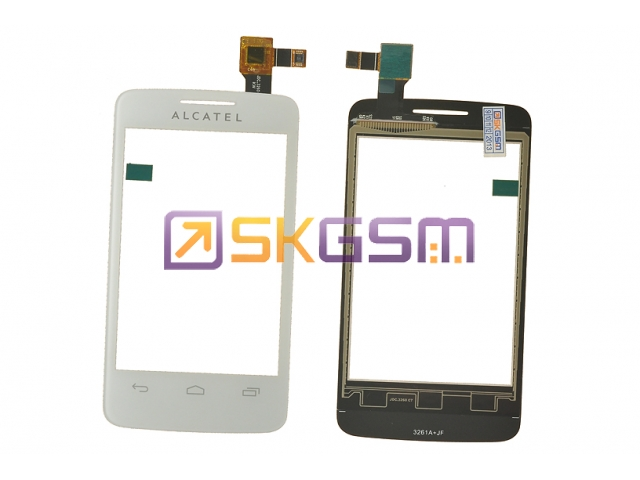 Alcatel ONE TOUCH 3040d - Сенсорная панель (touch/panel) (цвет:White), Оригинал