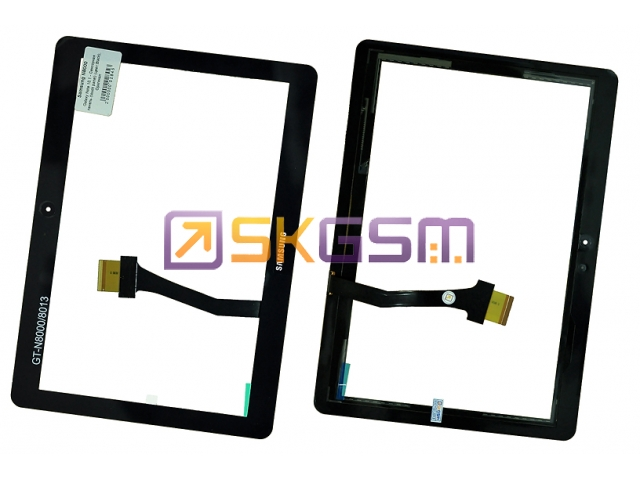 Samsung N8000 Galaxy Note 10.1 - Сенсорная панель (touch panel) (цвет:Black), Оригинал