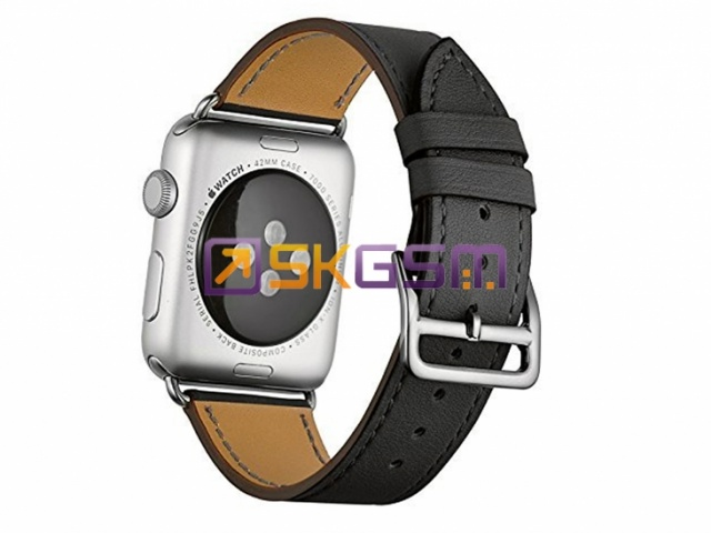 COTEetCI Leather Watchband - браслет кожаный для Apple Watch 42mm (цвет:Black), Оригинал